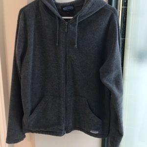 Old Navy dark gray hoodie jacket